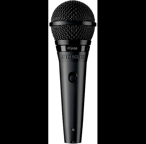 Shure : PGA58-XLR Vocal Microphone