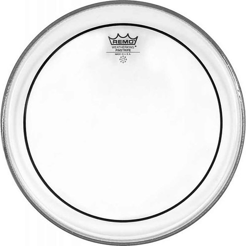 "Remo : 14"" Pinstripe Clear Drum Head"