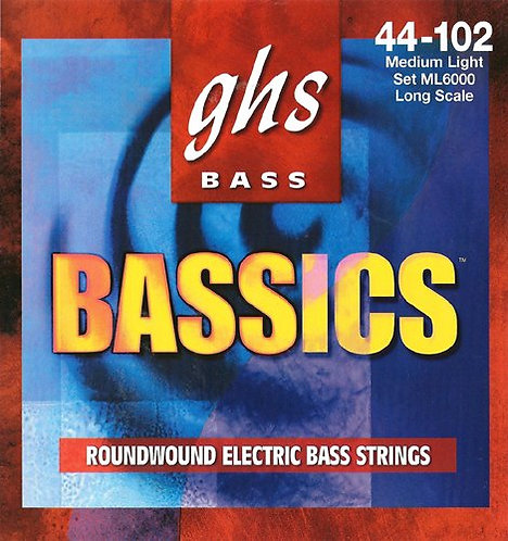 Bassics Nickel Plated Bass Strings : GHS
