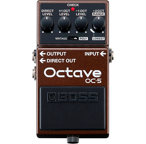 BOSS : OC-5 Octave Pedal
