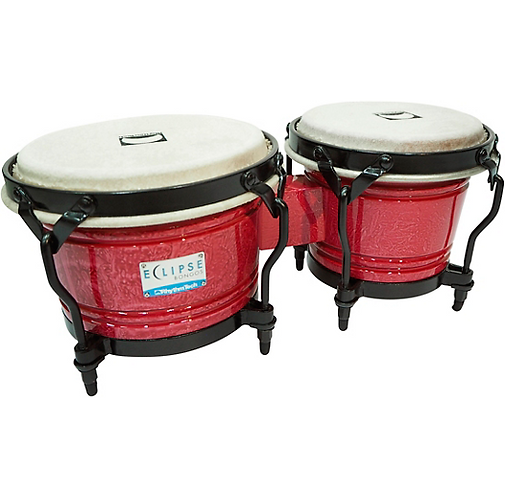 Rhythm Tech : RT5603 Eclipse Bongos - Red Wine Finish