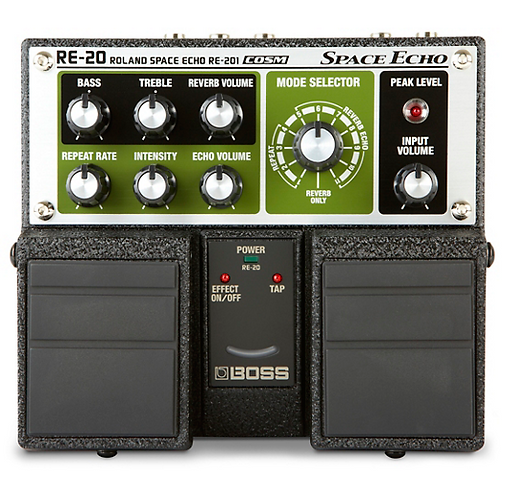 BOSS : RE-20 Space Echo Delay / Reverb