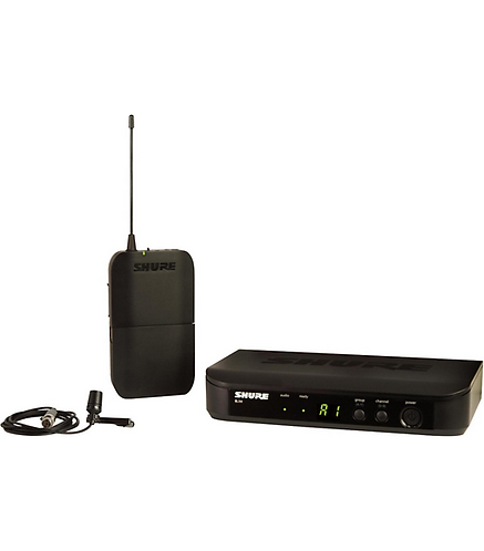 BLX14 Wireless Presenter System with CVL Lavalier Microphone : Shure