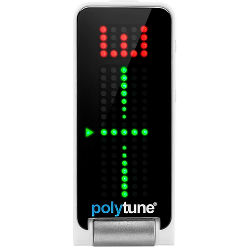 TC Electronic : Polytune Clip-On Guitar Tuner