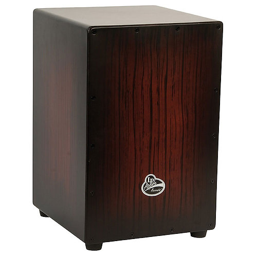 LP :Aspire Accents Cajon - Dark Wood Streak
