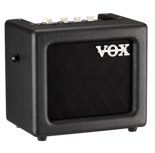 3W Battery-Powered Modeling Amp - Vox