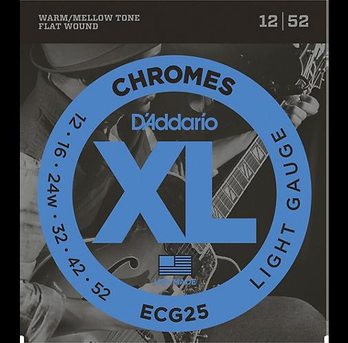 ECG25 Chromes - Light - D'addario