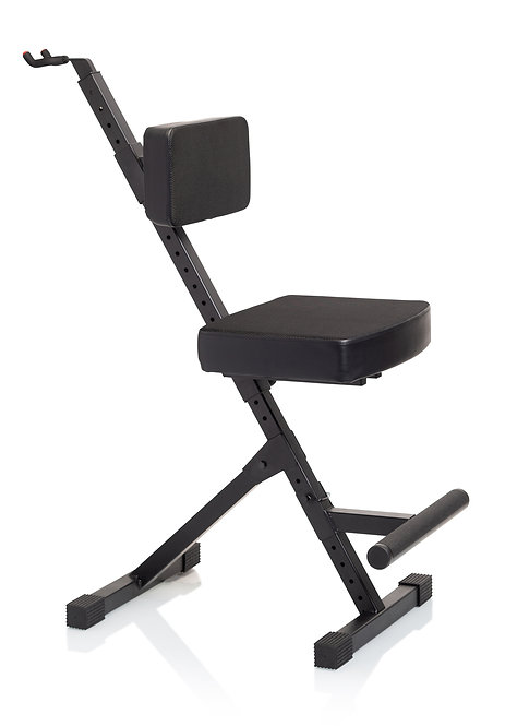 Deluxe Guitar Seat with Single Hanging Guitar Stand : Gator