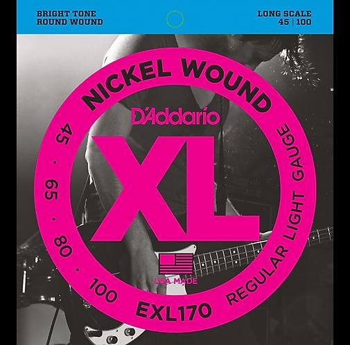 D'Addario : Nickel Wound Bright