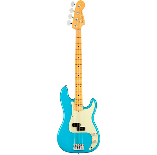 Fender : American Professional II Precision Bass - Miami Blue