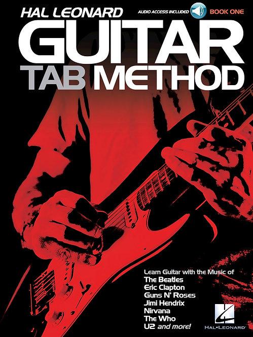 Guitar Tab Method (Book + Online Audio) : Hal Leonard