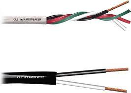 White Bulk 16Ga Speaker Cable Per/Ft: RapcoHorizon