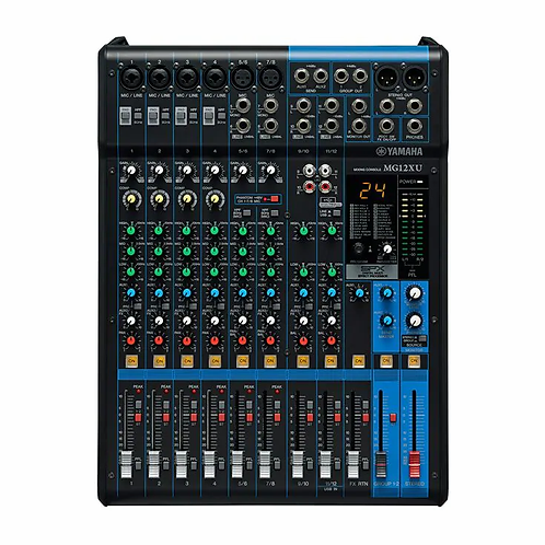 MG12XU 12-Channel Mixing Console - Yamaha