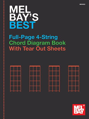 Mel Bay's Best : Full-Page 4-String Chord Diagram Book