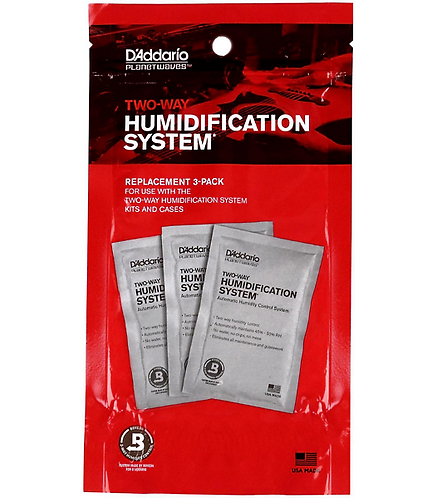 D'Addario : HuMIDIpak Replacement Packets - 3 Pack