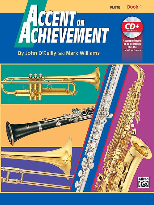 Accent on Achievement, Book 1: Flute : Alfred