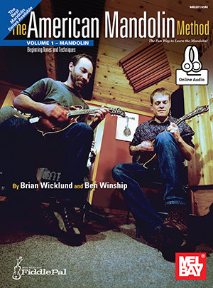 American Mandolin Method Volume 1 (Book + Online Audio) : Mel Bay