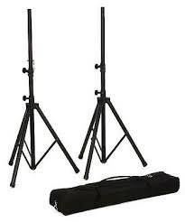 PAIR Speaker Stands +Bag Black - Yamaha