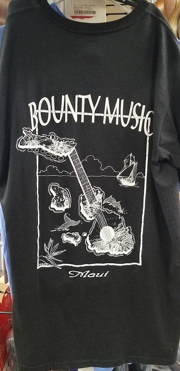 Large T-Shirt (Black) : Bounty Music
