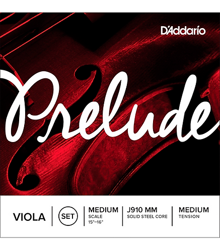 D'Addario : Prelude Series Viola String Set  15-16 Medium Scale