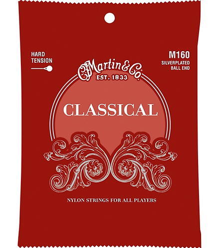 Martin : Classical Hard Tension Silverplated