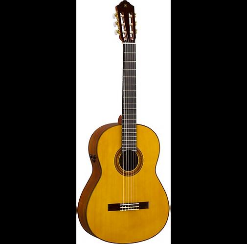 CG-TA TransAcoustic Nylon-String Acoustic-Electric Guitar - Yamaha