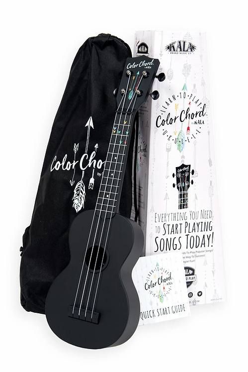 Kala : Color Chord Ukulele Starter Kit