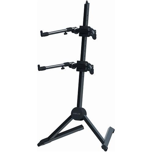Double-tier Slant Keyboard Stand : Quik-Lok