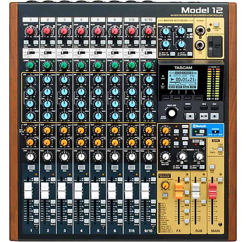 Model 12 All-In-One Production Mixer - Tascam