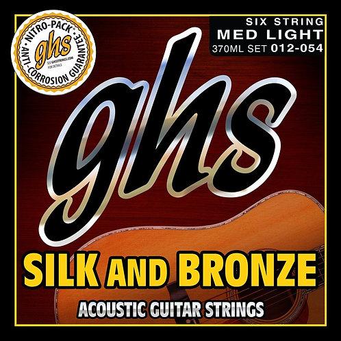 Silk and Bronze (med-light) (.012-.054) : GHS