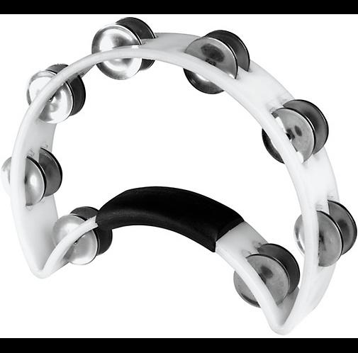 Ergonomic Tambourine  - White : Rhythm Tech