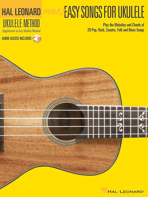 Hal Leonard: More Easy Songs For Ukulele