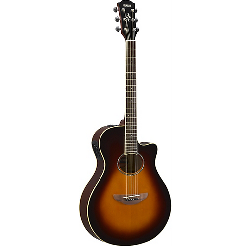 Yamaha : APX600 Acoustic-Electric Guitar - Old Violin Sunburst