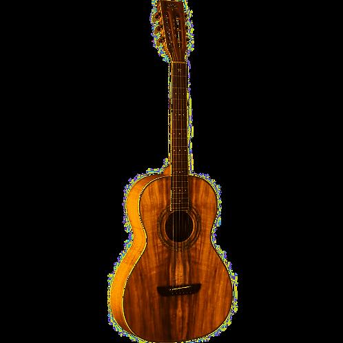 WP55NS-D Parlor Guitar - Koa - Washburn