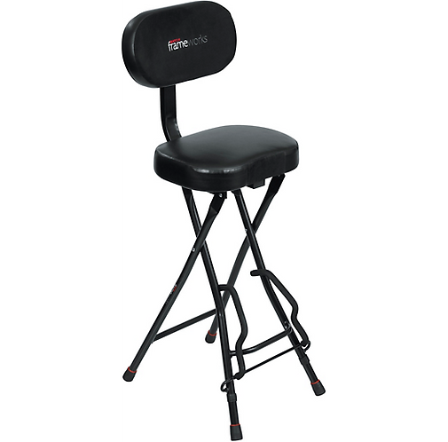 Gator : Guitar Seat and Stand Combo