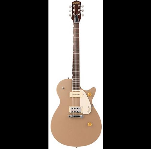 G2215-P90 Streamliner Junior Jet Club Guitar - Sahara Metallic - Gretsch