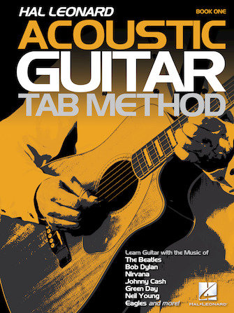 Acoustic Guitar Tab Method (Book 1) : Hal Leonard