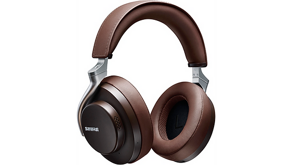 AONIC-50 Wireless Noise Cancelling Headphones - Brown : Shure