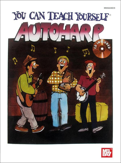 Mel Bay :  You Can Teach Yourself Autoharp (Book + CD)