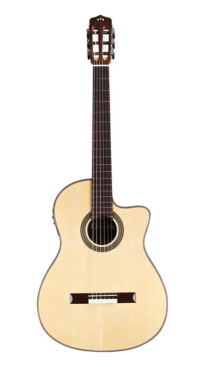 Cordoba : 12 Natural Spruce Top Classical Acoustic-Electric