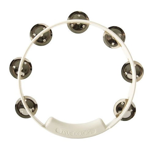 Rhythm Tech : True Colors Tambourine 8 in.