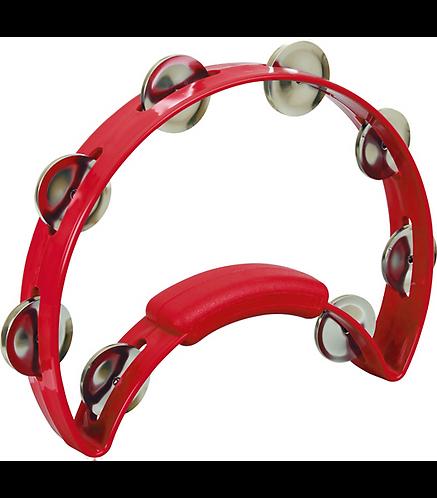 Solo Tambourine - Red - Rhythm Tech