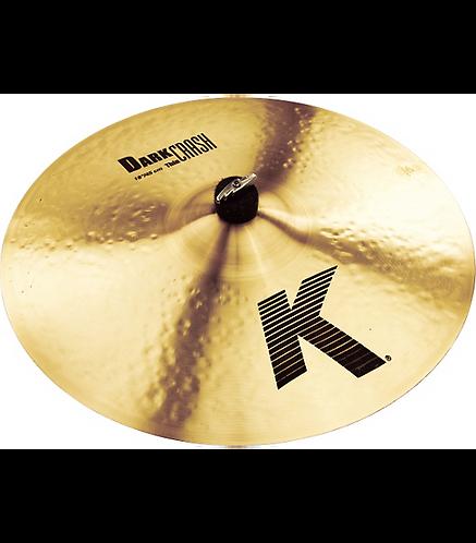 K Dark Thin Crash Cymbal  18 in. - Zildjian