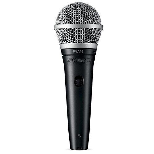 PGA48-XLR Cardioid Dynamic Vocal Microphone : Shure