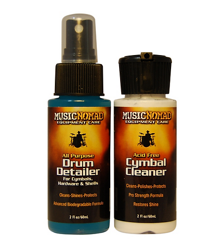 Cymbal Cleaner & Drum Detailer Combo Pack : MusicNomad