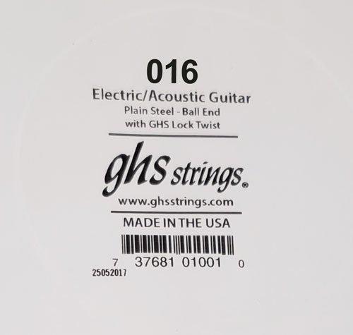 GHS : Lock End Single String (.016)