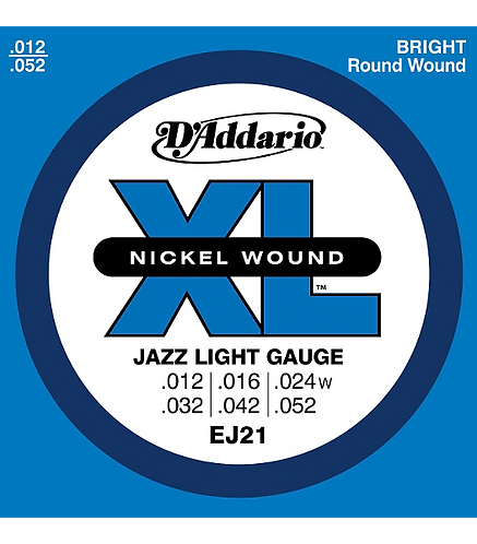 XL Nickel Jazz Light - D'addario