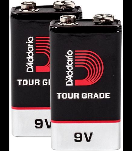 9V Battery 2 Pack - D'addario