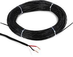 Black Bulk 16Ga Speaker Cable Per/Ft: RapcoHorizon