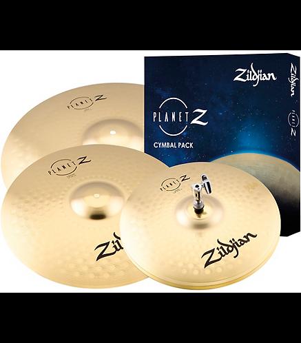 """Planet Z 14"""", 16"""", 20"""" Complete Cymbal Set - Zildjian"""